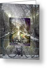 Waiting In The Snow Greeting Card