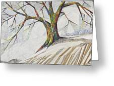 Waiting Out Winter Greeting Card