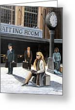 Waiting Room Greeting Card