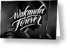 Wakanda Forever Okoye Greeting Card