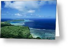 Wakaya Coastline Greeting Card