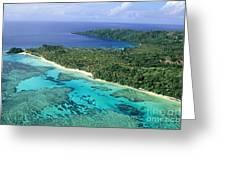 Wakaya Island Aerial Greeting Card