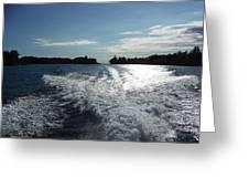 St. Lawrence Intercoastal Waterway Greeting Card