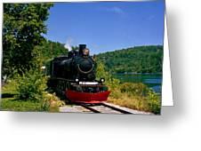 Wakefield Steam Train Greeting Card