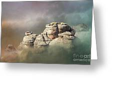 Waking Up In A Cloud Greeting Card