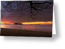 Sprite Island Sunrise Greeting Card