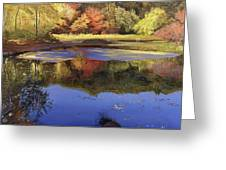 Walden Pond II Greeting Card