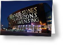Wales Millennium Centre Greeting Card