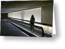 Walk-a-matic At Orlando Airport Greeting Card