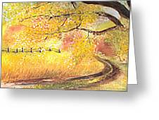 Walk About Greeting Card