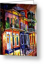 Walk Into The French Quarter Greeting Card
