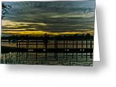 'walk On Water II' Greeting Card