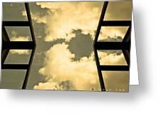 Walk The Sky Greeting Card
