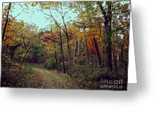 Walk Through Lowell Park Greeting Card