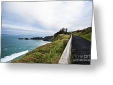 Walk To The End Of The Earth  Greeting Card