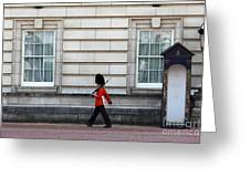 Walkabout In London Greeting Card