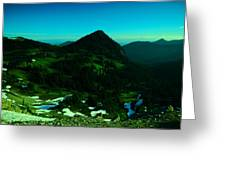 Walking In The Cascades Greeting Card