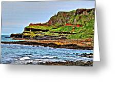 Walking The Causeway Greeting Card by Beauty For God