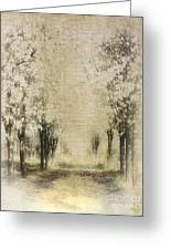 Walking Through A Dream IIi Greeting Card