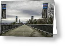 Walkway Over The Hudson Greeting Card