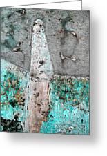 Wall Abstract 118 Greeting Card