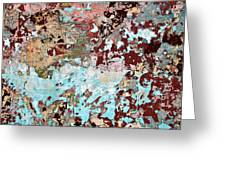 Wall Abstract 128 Greeting Card