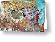 Wall Abstract 196 Greeting Card