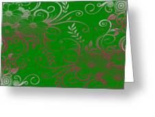 Wall Flower 2 Greeting Card
