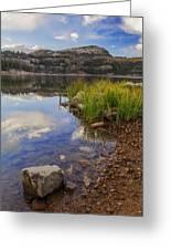 Wall Lake Greeting Card