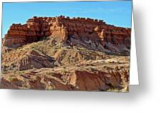 Wall Of Goblins Along  Carmel Canyon Trail In Goblin Valley State Park, Utah   Greeting Card