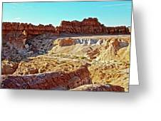 Wall Of Goblins In Carmel Canyon Trail In Goblin Valley State Park, Utah Greeting Card