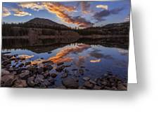 Wall Reflection Greeting Card by Chad Dutson