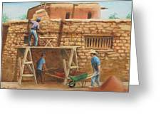 Wall Repair Greeting Card