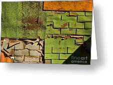 Wall Textures Greeting Card