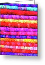 Wallart-multicolor Design Greeting Card
