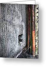 Walled Pipes Greeting Card
