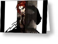 Wallflower Greeting Card by Mandem