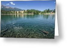 Wallowa Lake No.3 Greeting Card