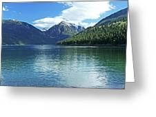 Wallowa Lake Oregon Greeting Card