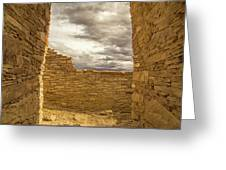 Walls Of Time Greeting Card