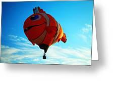 Wally The Clownfish Greeting Card