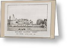 Walmer Castle Kent Greeting Card