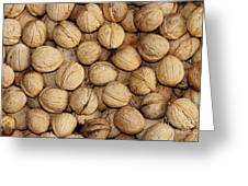 Walnuts Greeting Card