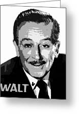 Walt Greeting Card by David Lee Thompson