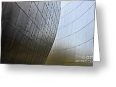Walt Disney Concert Hall 4 Greeting Card