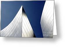 Walt Disney Concert Hall 41 Greeting Card