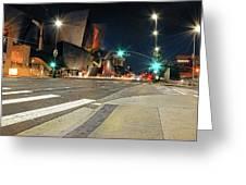 Walt Disney Concert Hall - Los Angeles Art Greeting Card