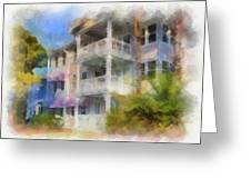 Walt Disney World Old Key West Resort Villas Pa 01 Greeting Card