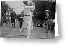 Walter Hagen Greeting Card
