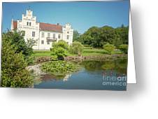 Wanas Castle Duck Pond Greeting Card